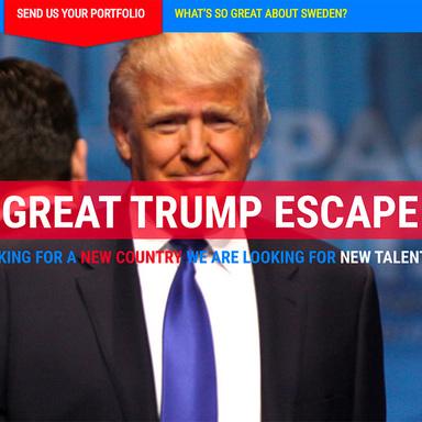 The Great Trump Escape