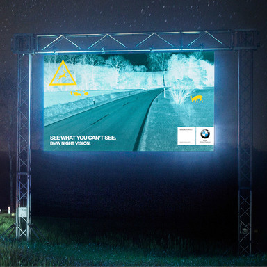 Animal Detecting Billboards