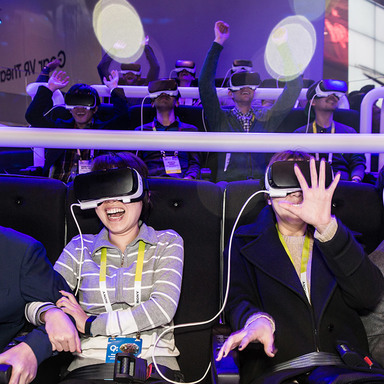 Samsung 4D VR Thrill Ride