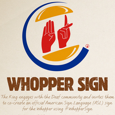 Whopper Sign