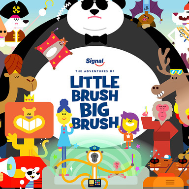 The Adventures of Little Brush Big Brush