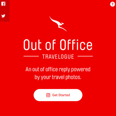 Qantas Out of Office Travelogue
