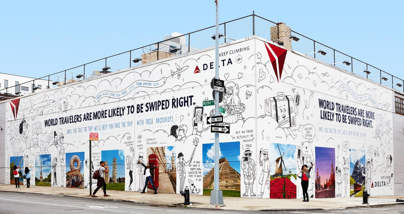 Delta Dating Wall