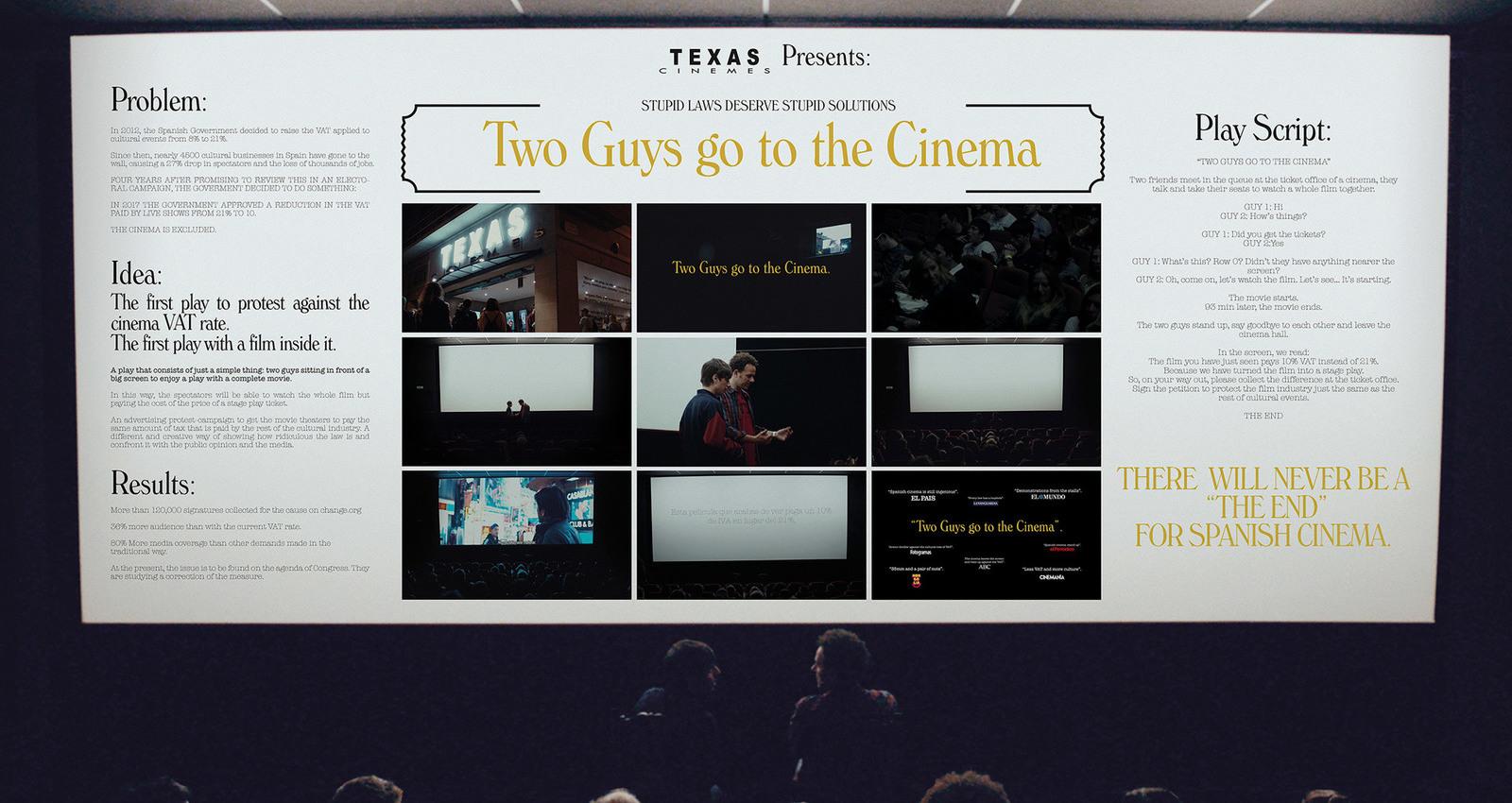 TWO GUYS GO TO CINEMA