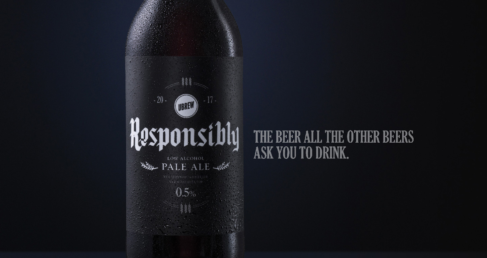 Responsibly the beer