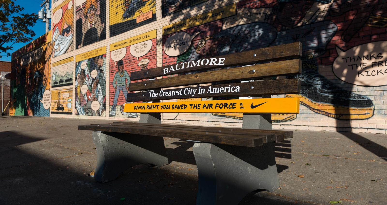 Nike Air Force 1 Baltimore