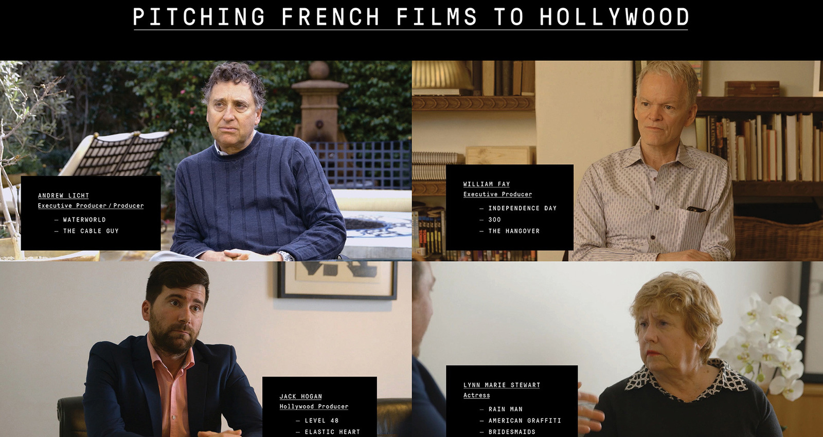 Pitching French Films To Hollywood
