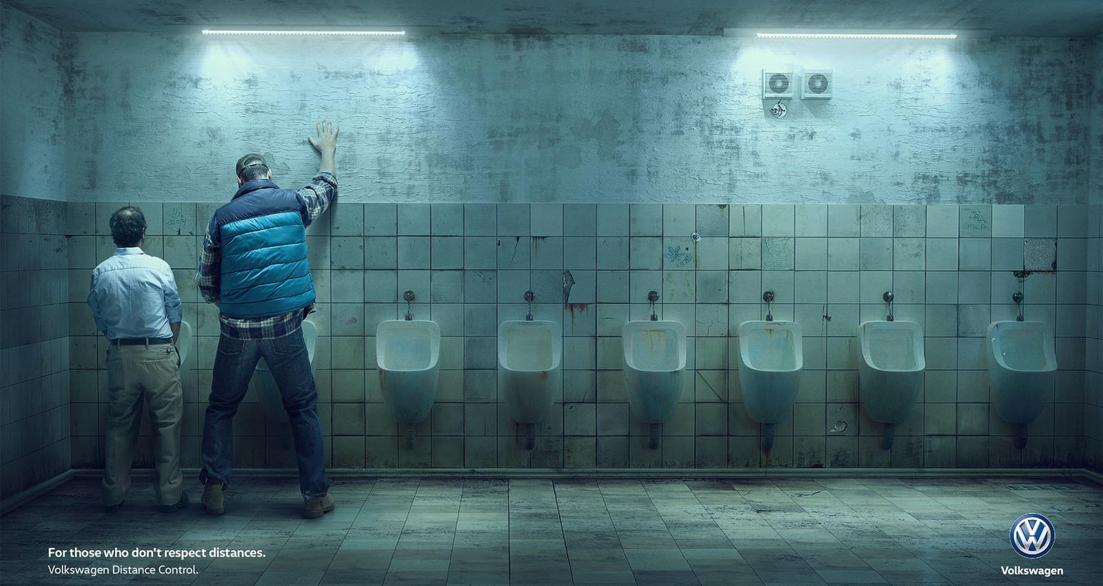 Distance - Urinals
