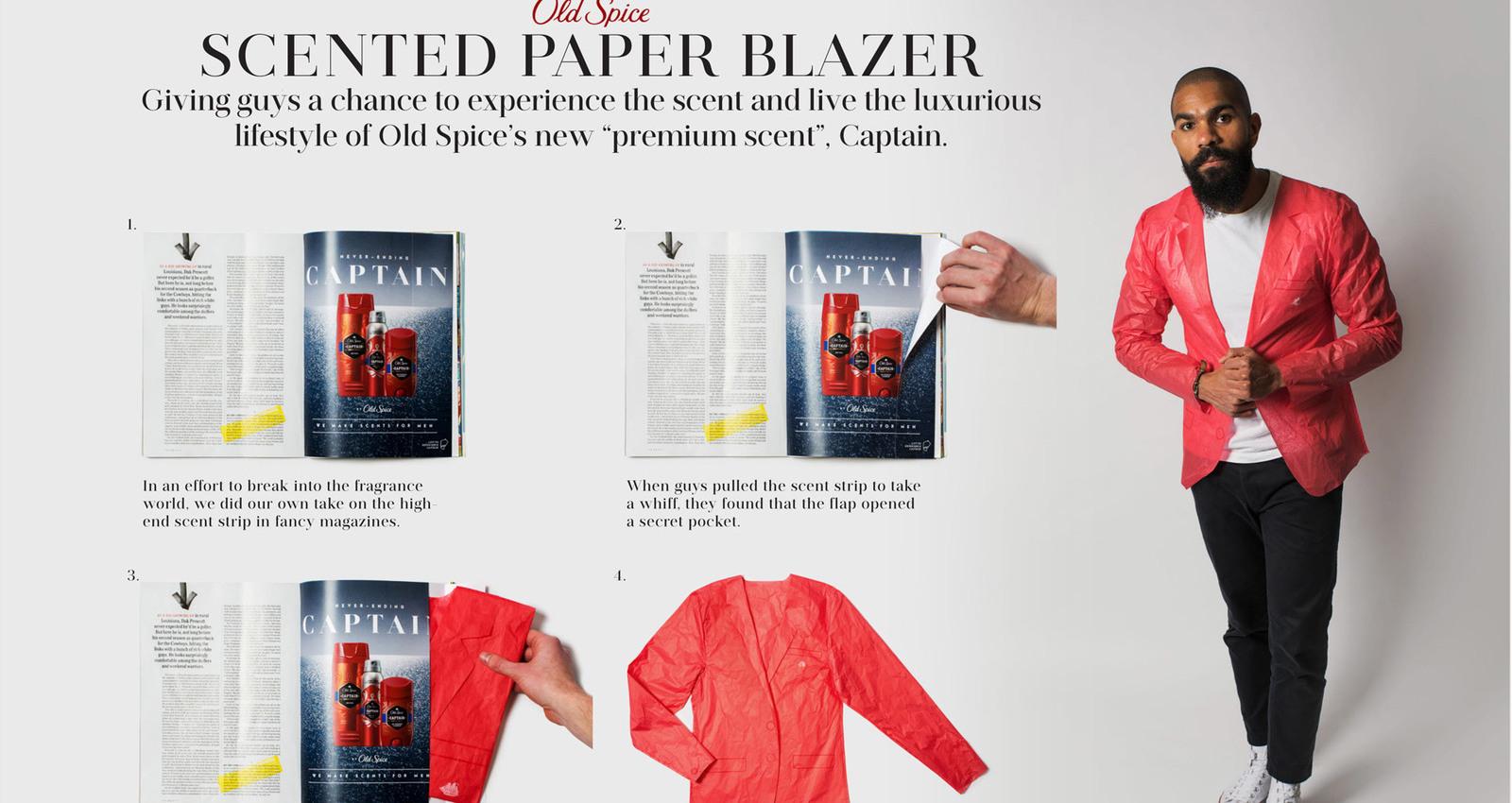 Old Spice - Paper Blazer