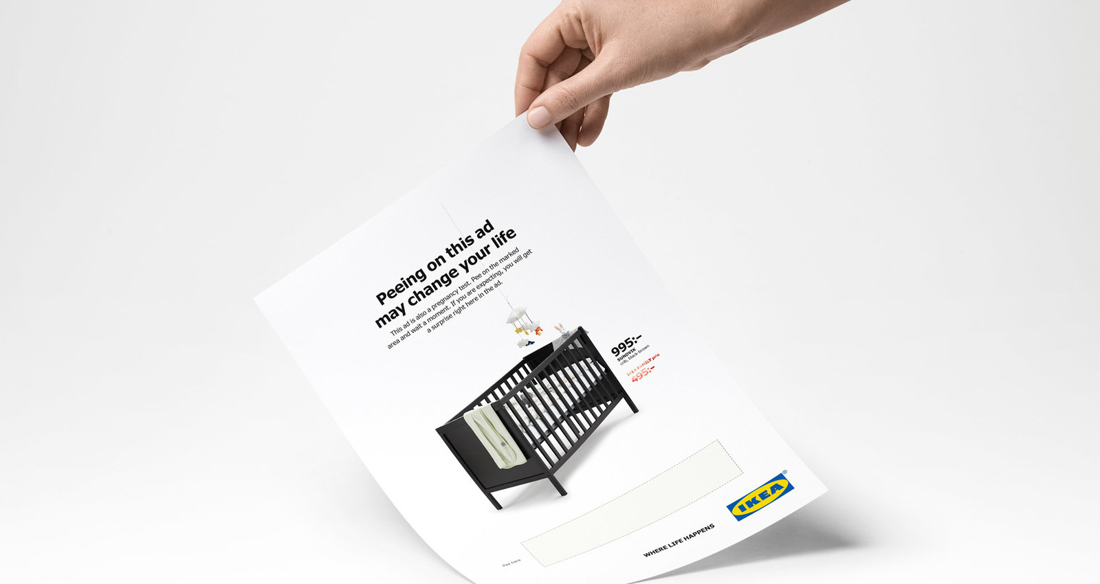 IKEA Pee Ad