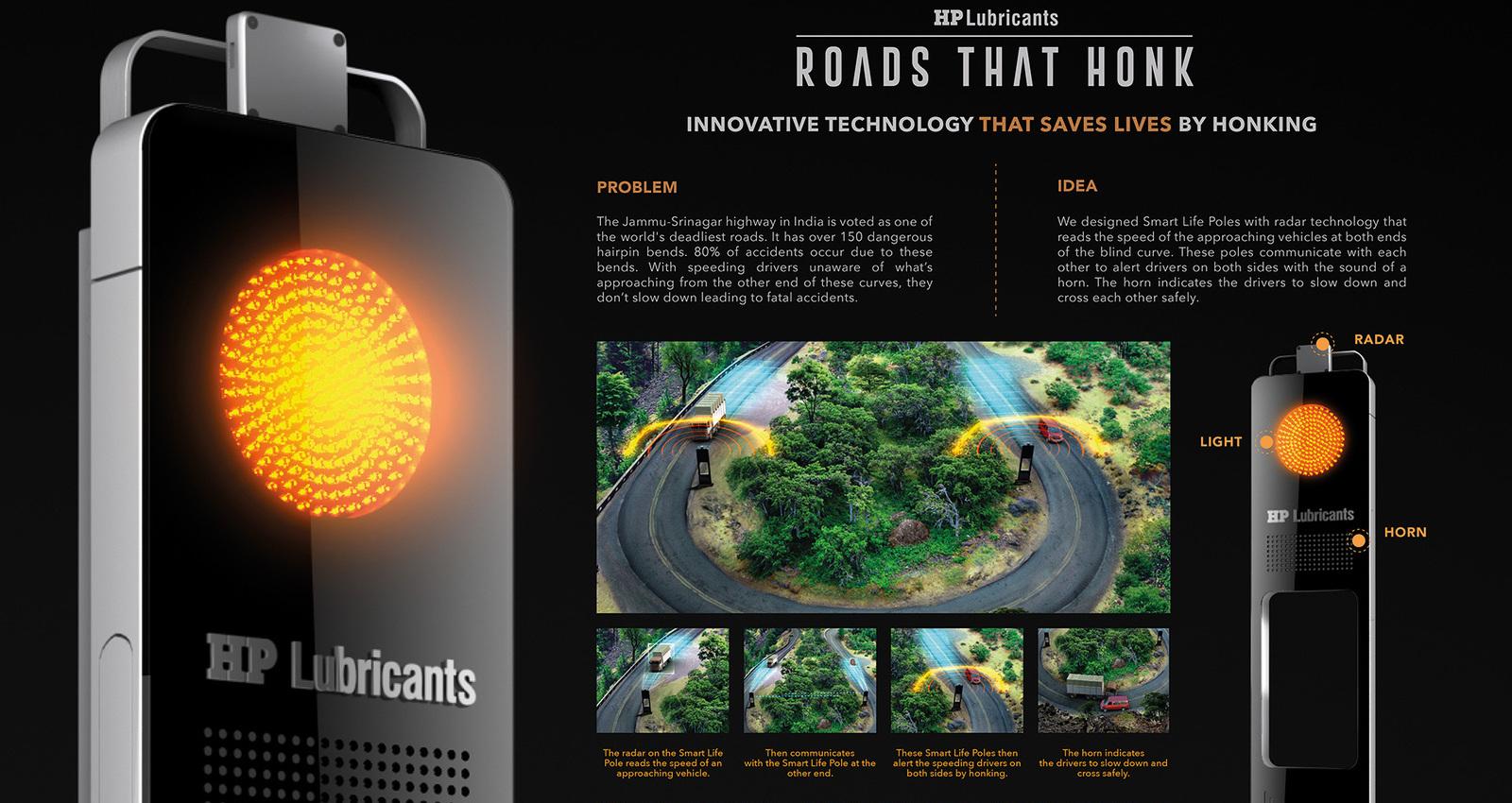 Roads That Honk