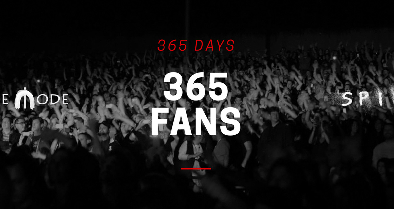 Depeche Mode: 365 Days, 365 Fans