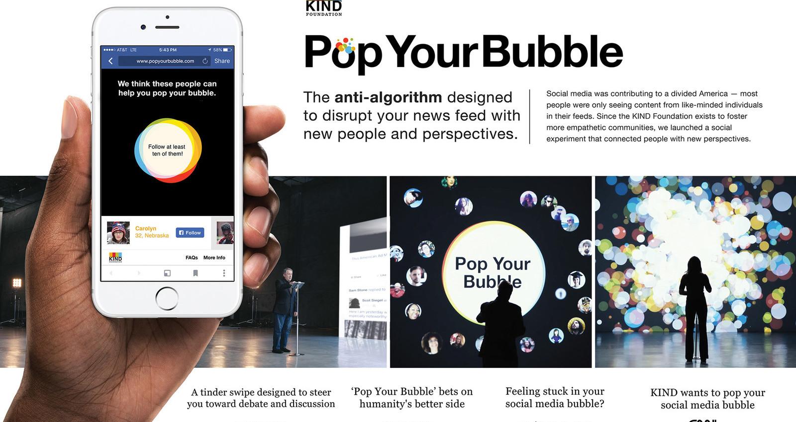Pop Your Bubble