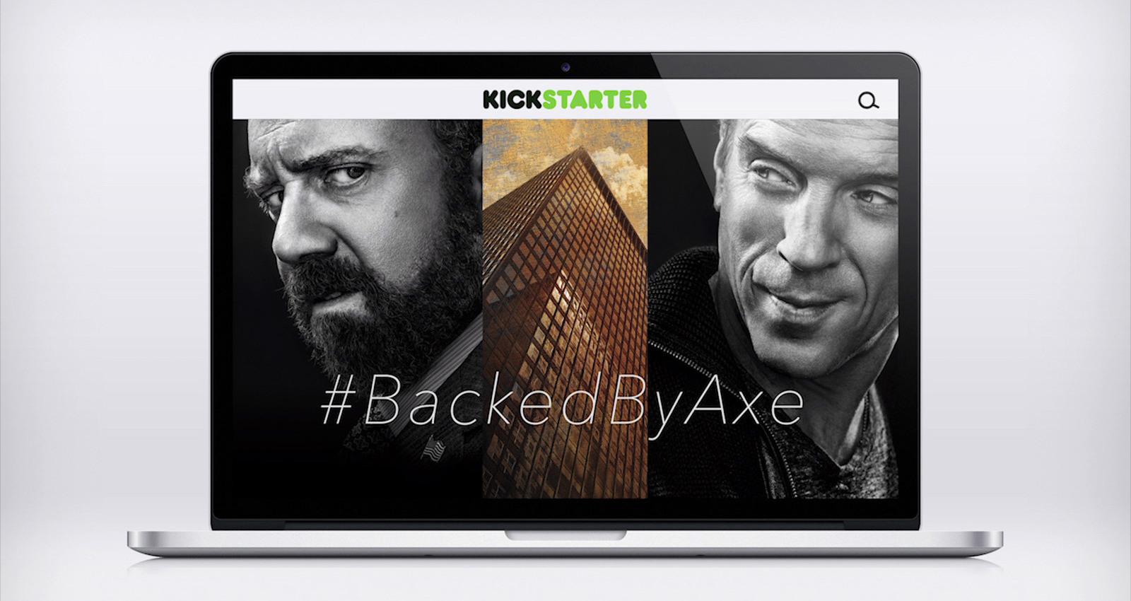 #BackedByAxe
