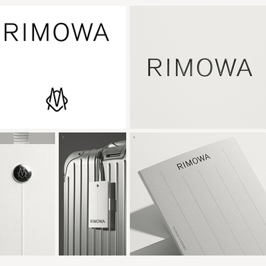 A new visual identity for iconic luggage brand RIMOWA
