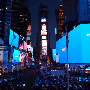 Samsung Galaxy S8: Times Square Takeover