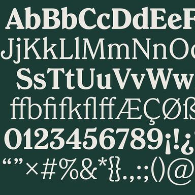 Chobani Serif