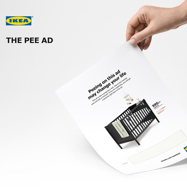 The Pee Ad