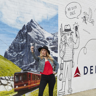 Delta Dating Wall