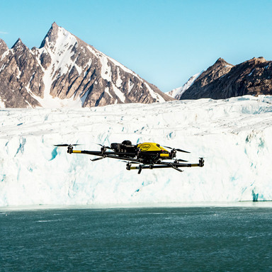 Above The Arctic: An Intel Drone Expedition