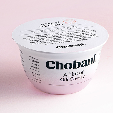 Chobani A hint of flavor