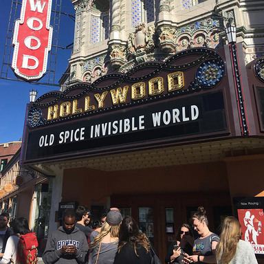 Invisible World: An Old Spice Invisible Spray Production