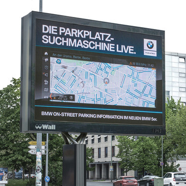 The world's first public search engine for parking spots