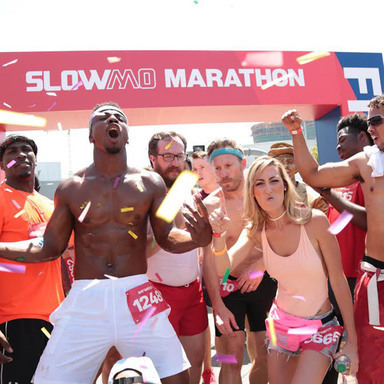 Baywatch Slo-Mo Marathon