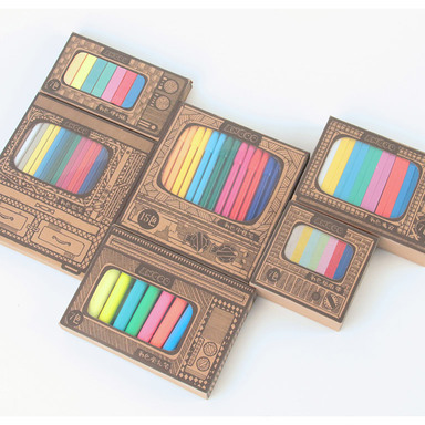 PACKAGING DESIGN OF CREATIVE STATIONERY FOR CHROMATOGRAPHIC SERIES