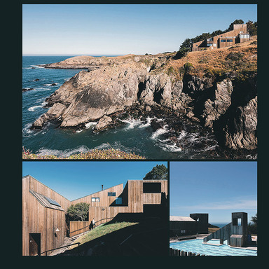 Sea Ranch, California Typeface