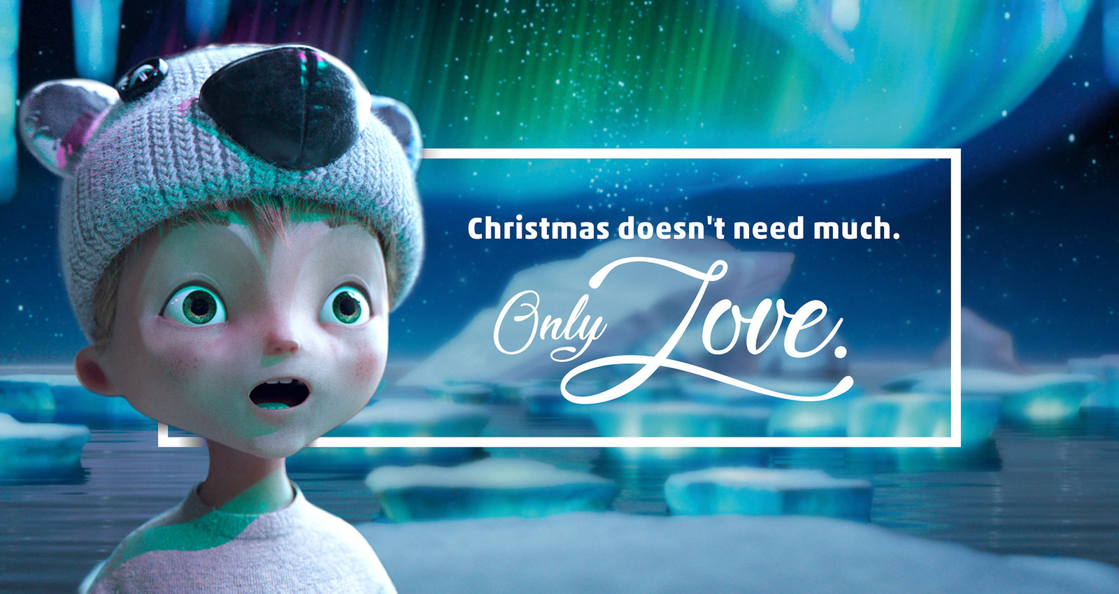 Christmas doesn´t need much. Only Love.