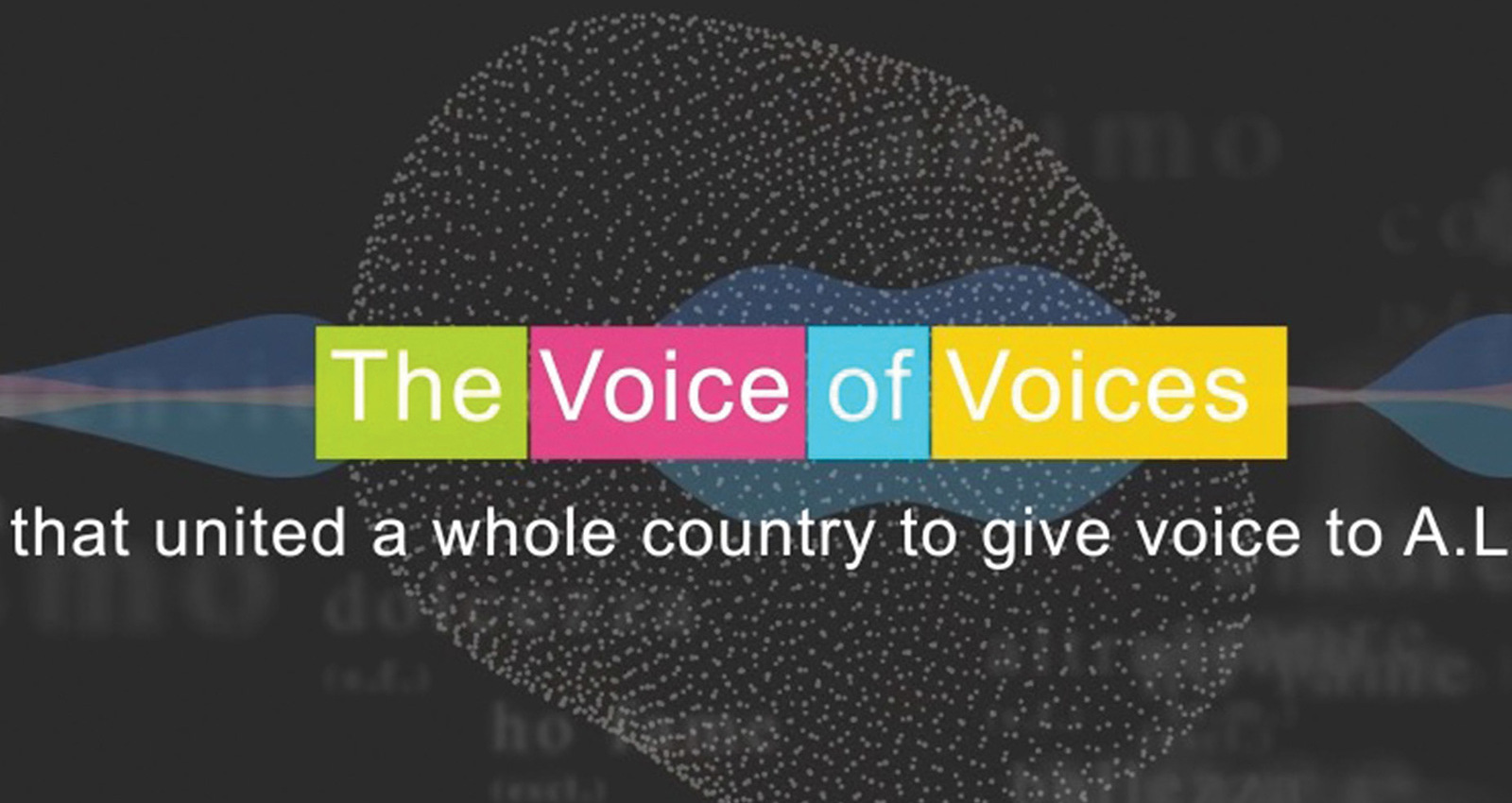 THE VOICE OF VOICES