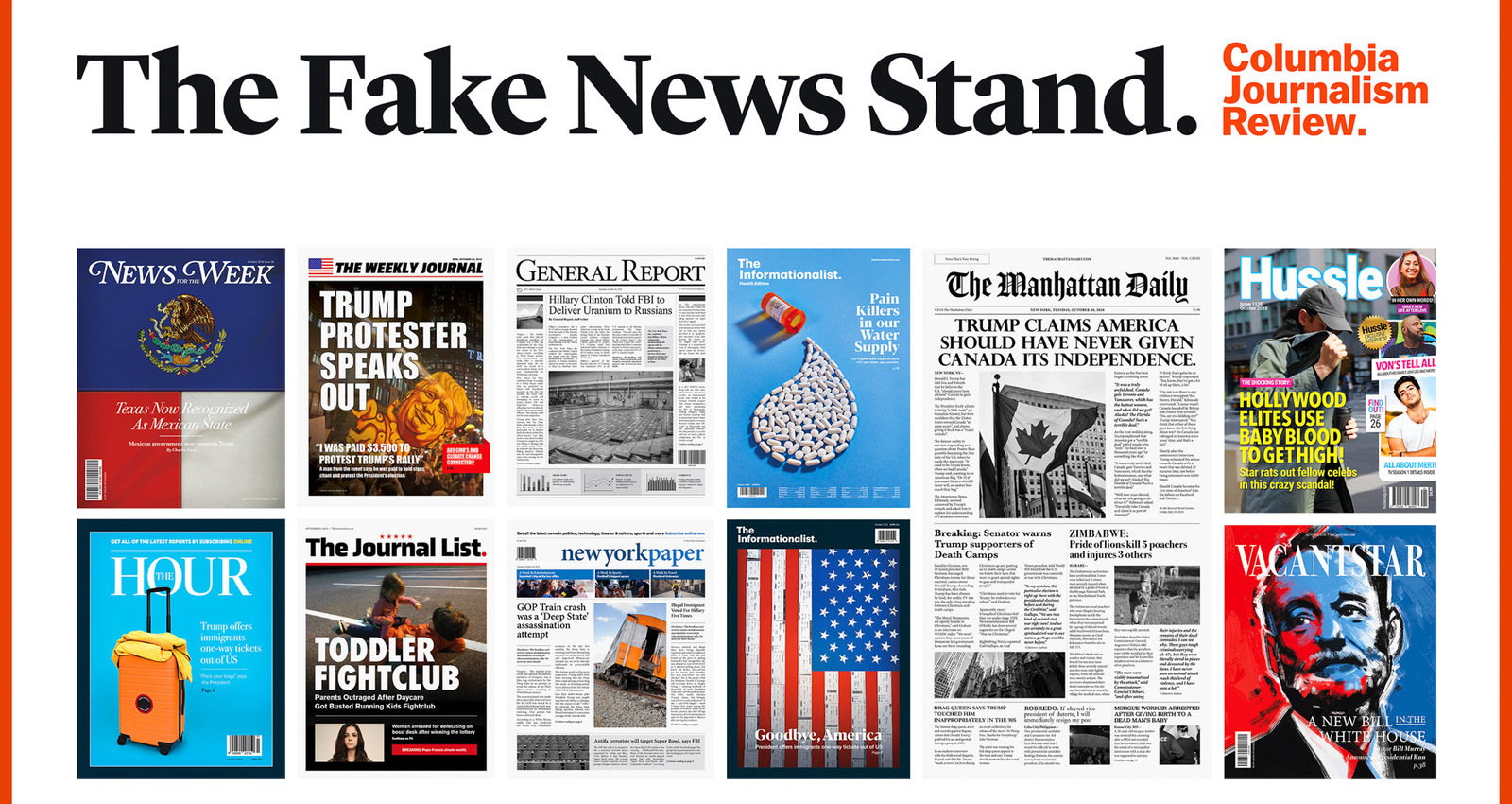 The Fake News Stand