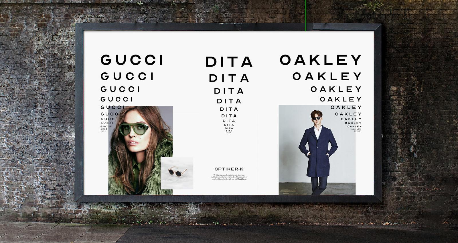 Typeface based on historical optometrist eye charts