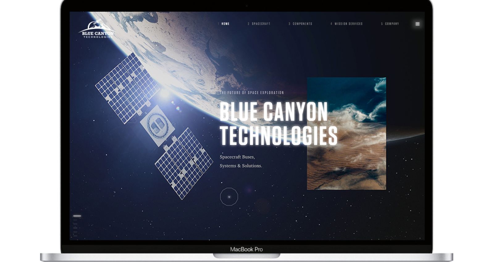 Blue Canyon Technologies Website