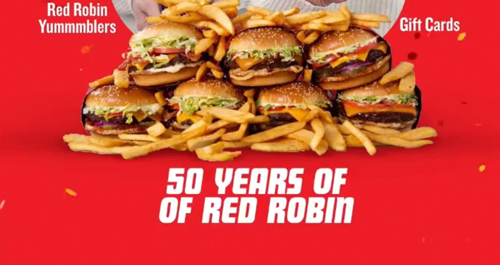Red Robin 50th Celebration