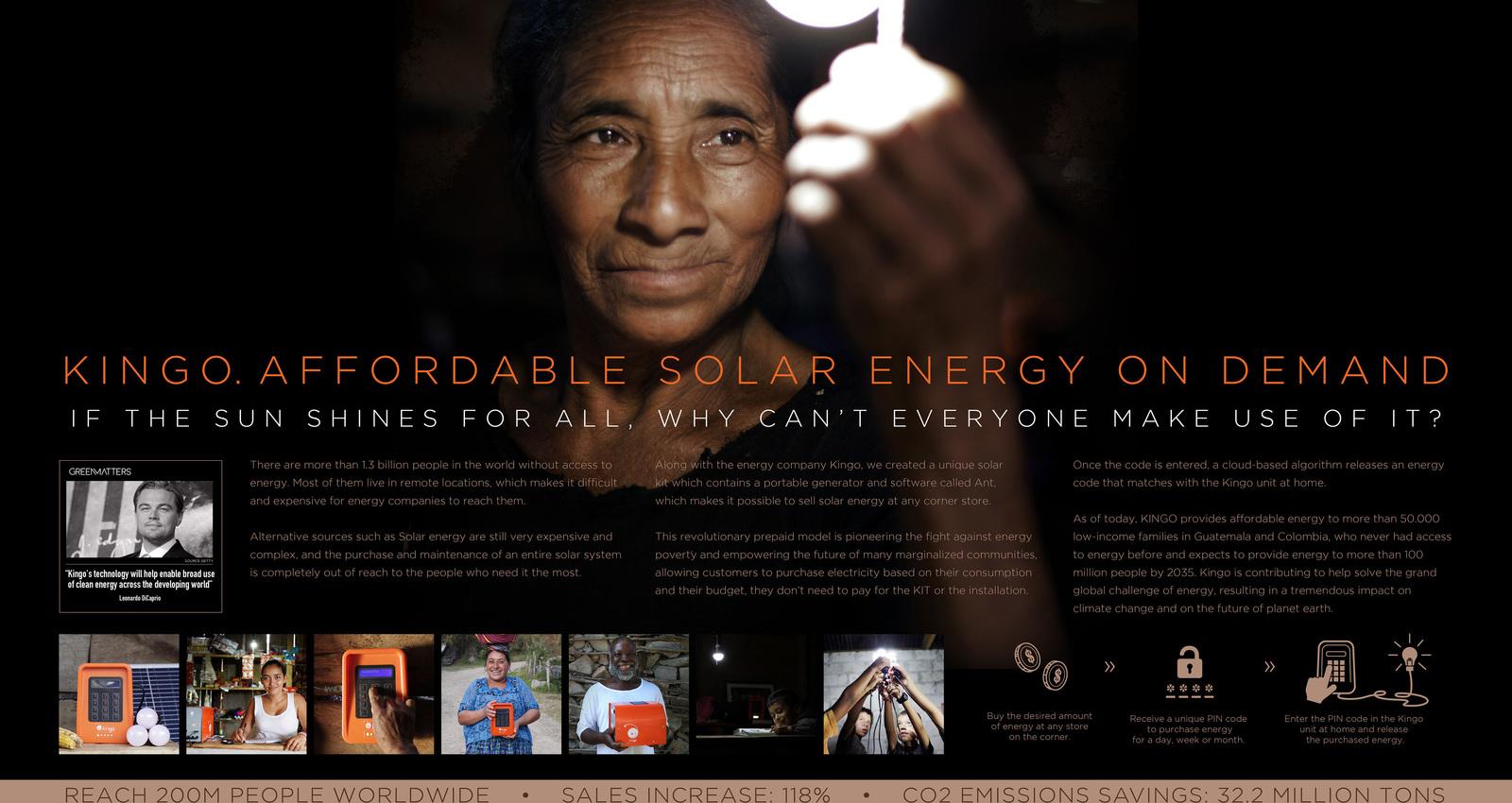 KINGO. affordable solar energy on demand