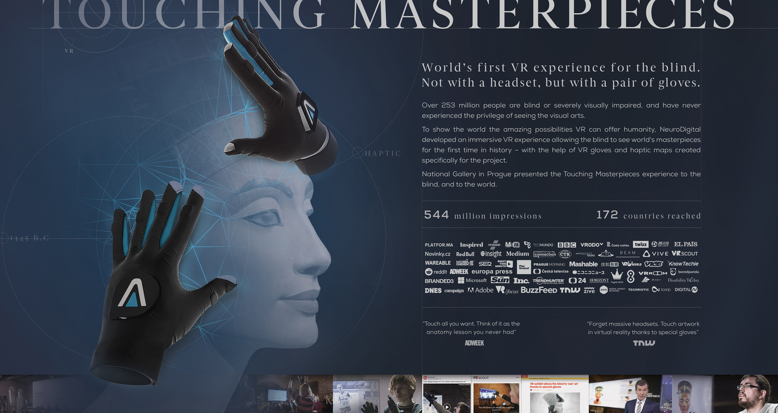 Touching Masterpieces