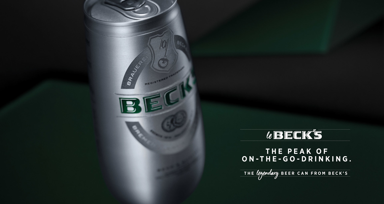 Le Beck's: The legendary beer can