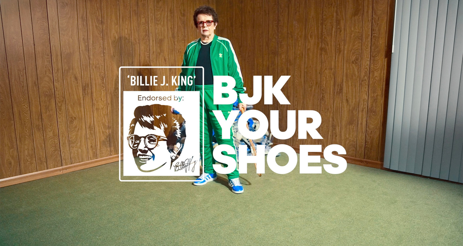 Billie Jean King Your Shoes