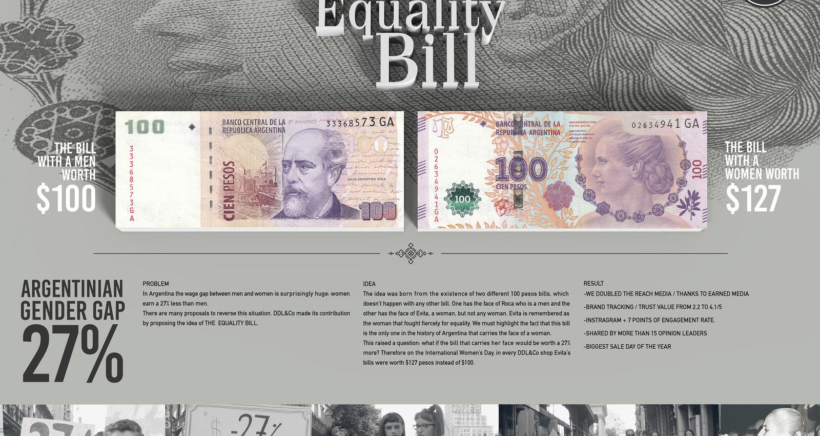 Evita, Equality Bill