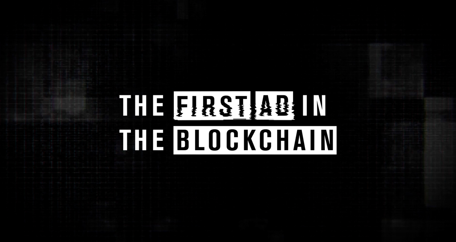 Greetings from the Blockchain
