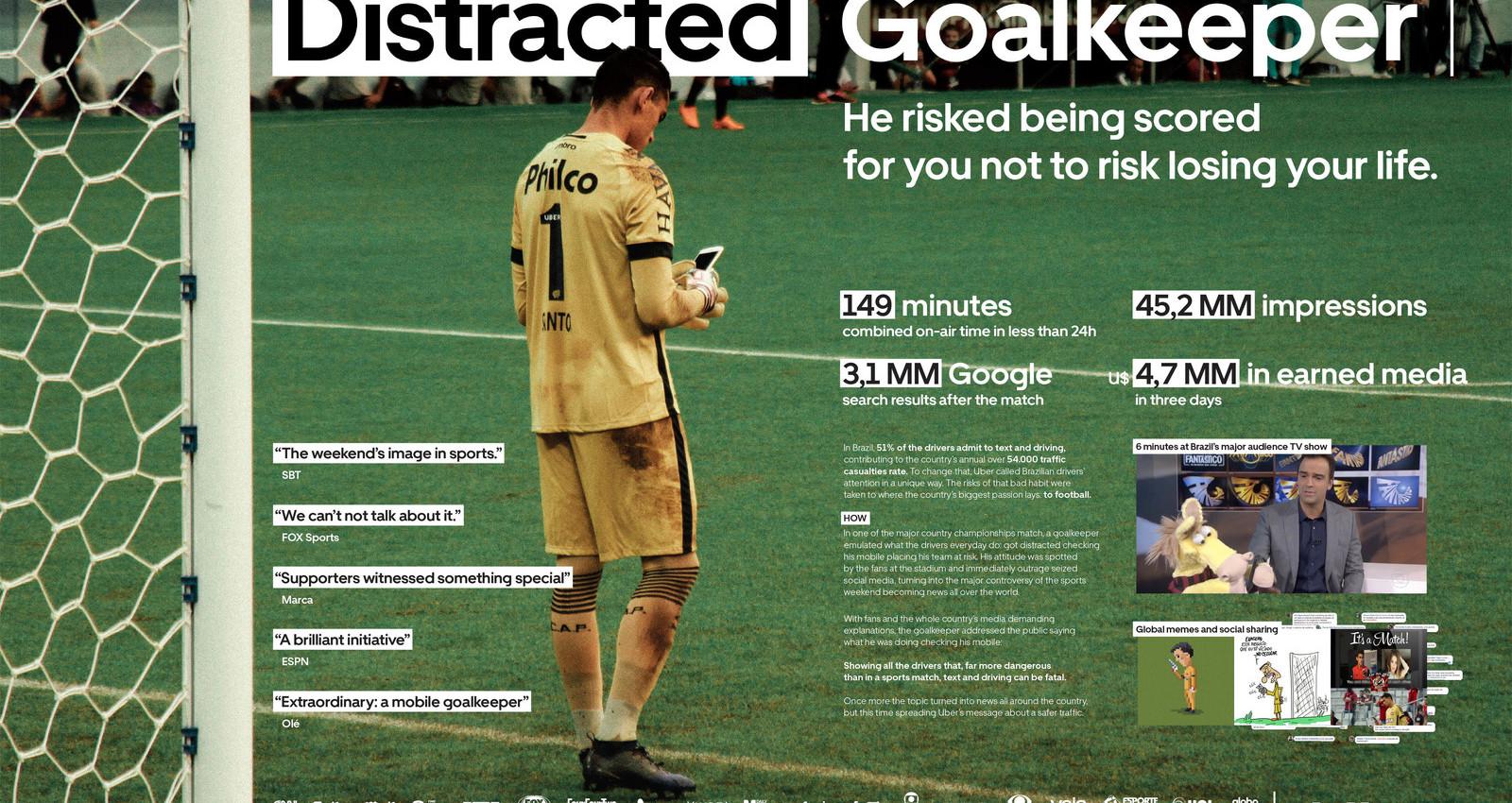 Distracted Goalkepper