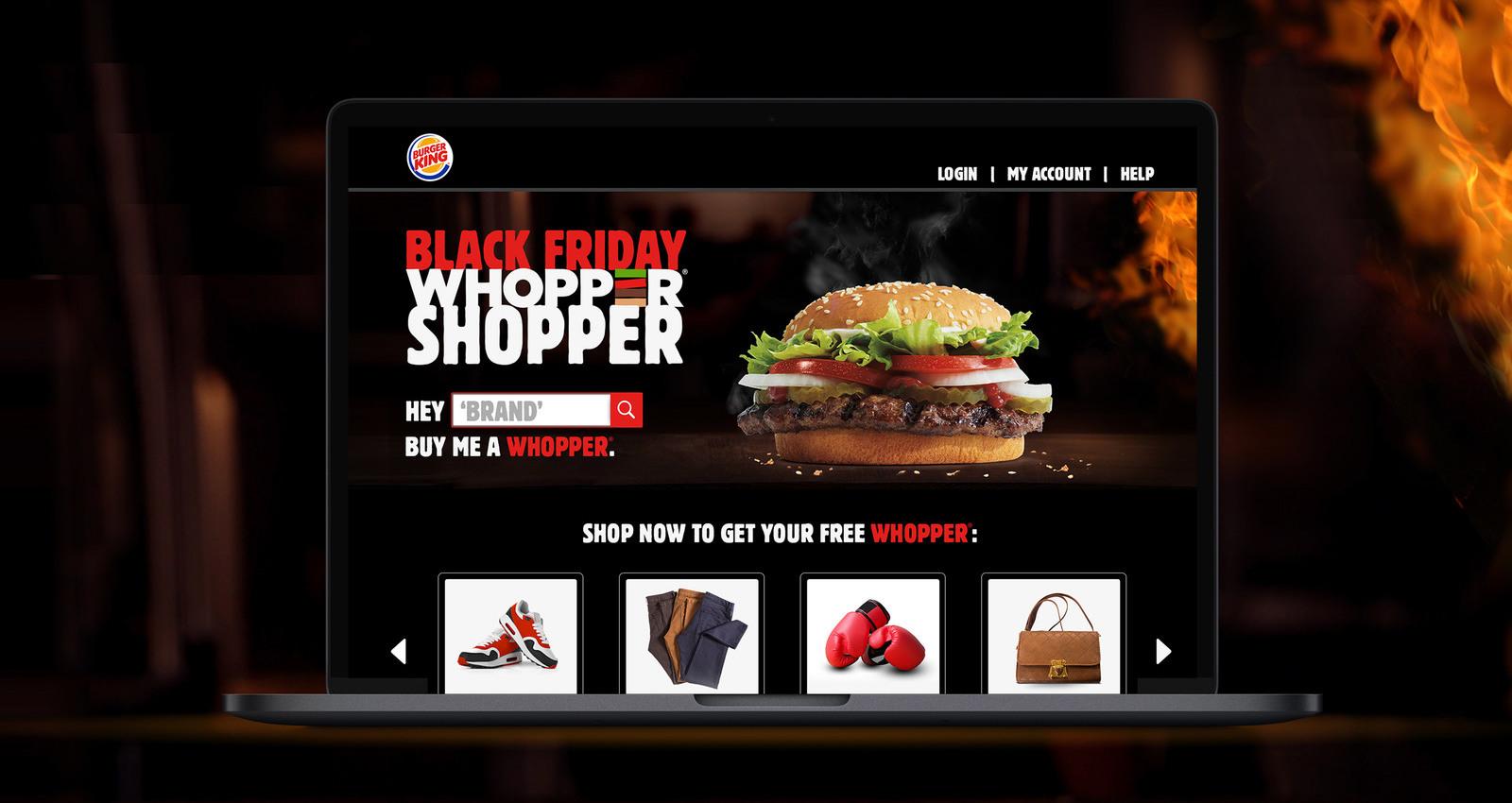 Black Friday Whopper Shopper