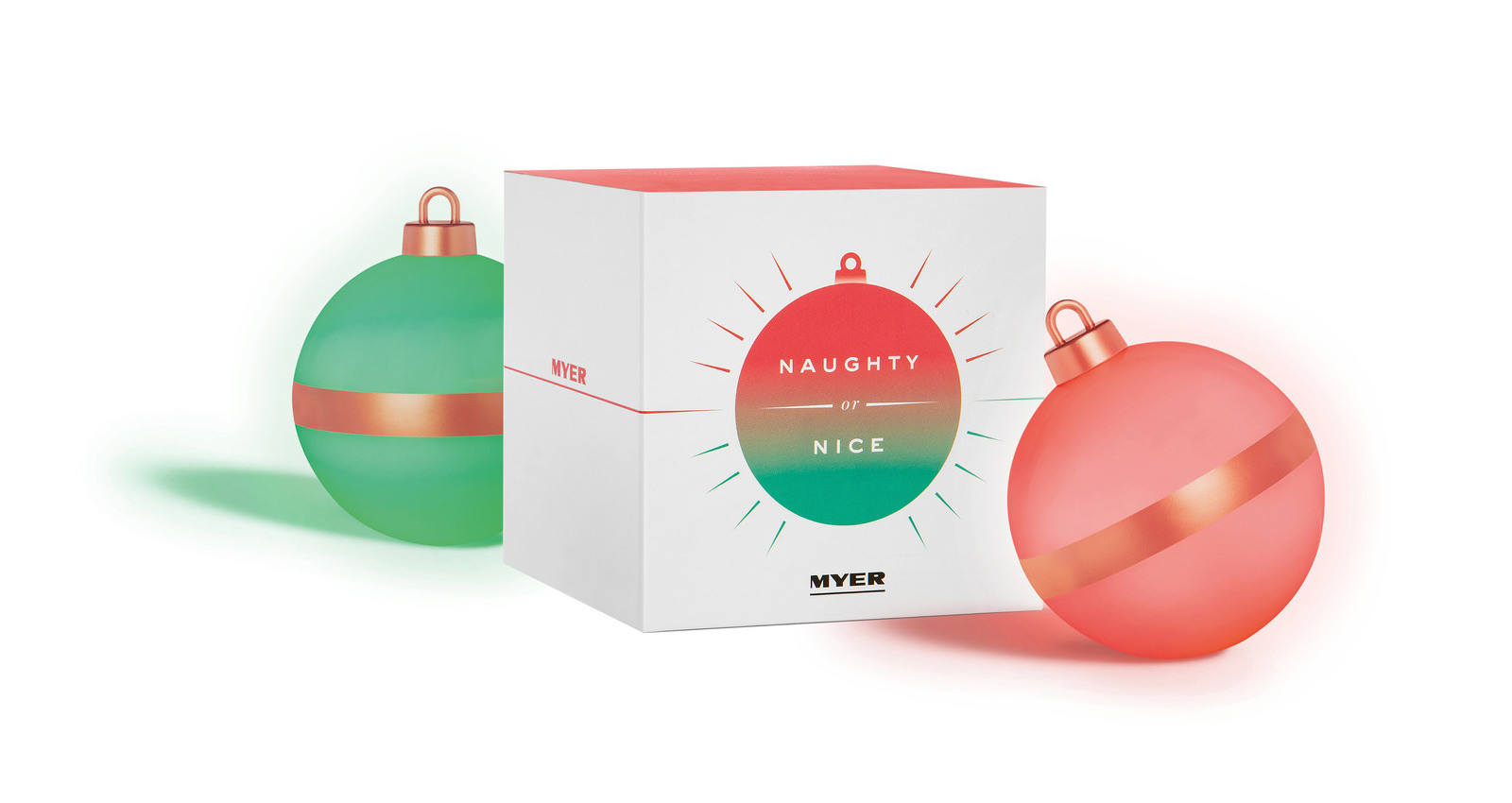 Naughty or Nice Bauble