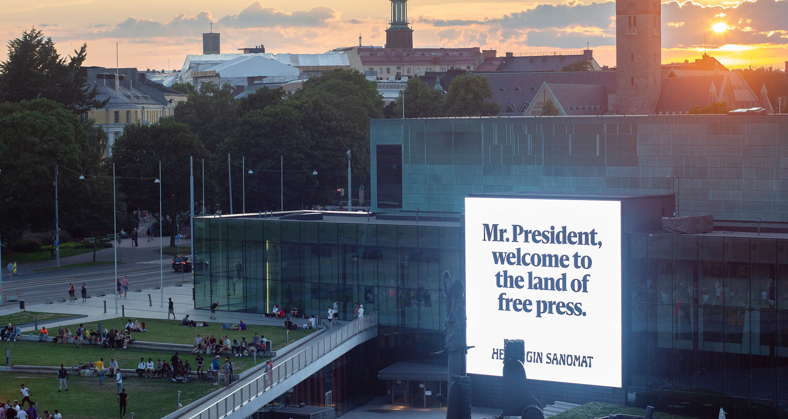 The Land of Free Press