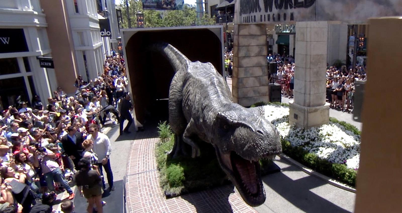 Amazon Jurassic Box Experience