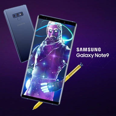 Samsung x Fortnite: The Galaxy Skin