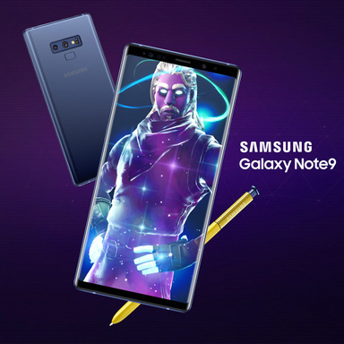 Samsung x Fortnite: The Galaxy Skin