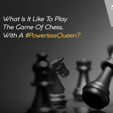 #PowerlessQueen